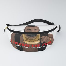Dyngus Day Enthusiast Discourages Kishka Theft Fanny Pack