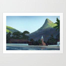 Ilha Grande Art Print