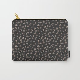 Skull Town (on Charcoal Grey Background) Carry-All Pouch