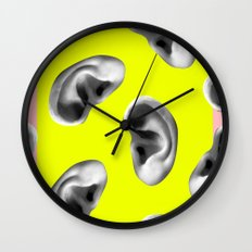 Listening to the voices Wall Clock
