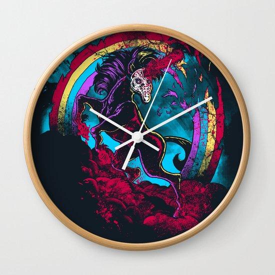 Murdercorn Wall Clock