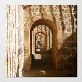 Toledo Arches, Spain Canvas Print
