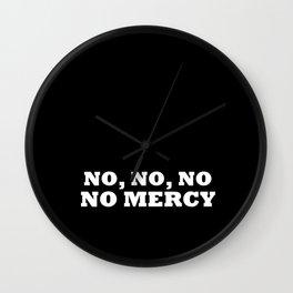 NO MERCY - B.A.P. Wall Clock