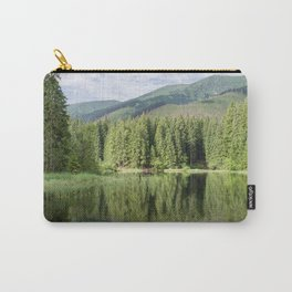Calm Green Trees Carry-All Pouch