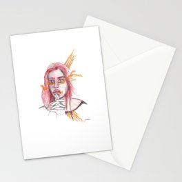 BREATHING I @EdART Stationery Cards