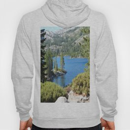 Inlet, lake, water, nature, road trip Hoody
