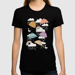 Rainbow Spring Showers T-shirt