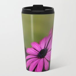 Purple Osteospermum Travel Mug