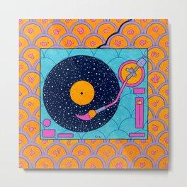 Space Sounds Metal Print