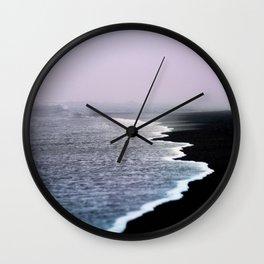 Dusk Coast Wall Clock