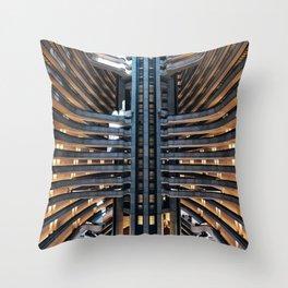 Atlanta Marriott Marquis / 01 Throw Pillow