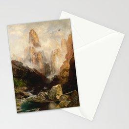 Thomas Moran - Mist in Kanab Canyon, Utah, 1892 Stationery Cards