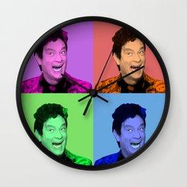 David S. Pumpkins - Any Questions? - Pop Art Wall Clock