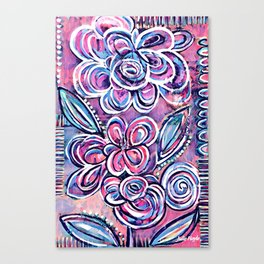 Letting Loose Canvas Print