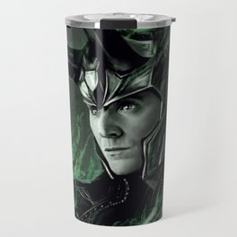 Green Fire Travel Mug
