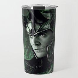 Green Fire Travel Mug