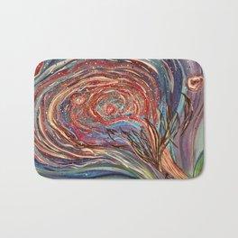 The Rose Nebula Bath Mat