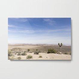 Joshua Tree Landscape Metal Print