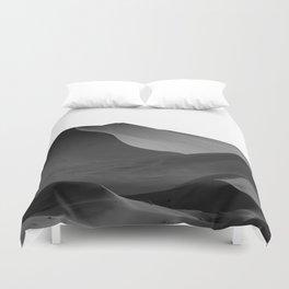 dunes(Black and white) Duvet Cover