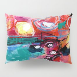 Abstract Soul Dance 1 by Kathy Morton Stanion Pillow Sham