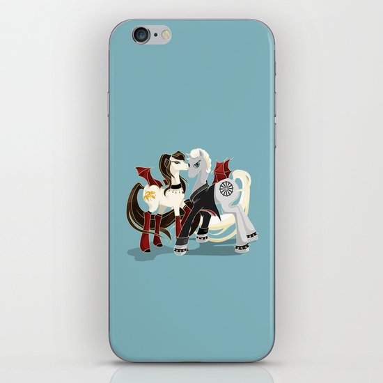 My little Vampires: Spike and Drusilla iPhone & iPod Skin