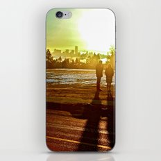 A Mix Of Sun And Snow iPhone Skin