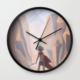 Blind Adventure Wall Clock