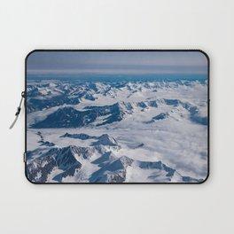 Aerial Glacier Four - Alaska Laptop Sleeve