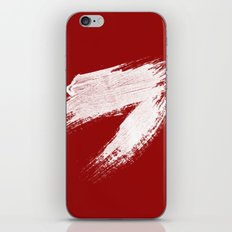ANGER - red palette iPhone & iPod Skin