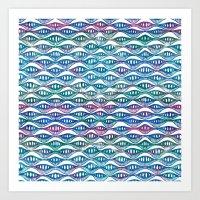 Waves in Your Eyes II Art Print