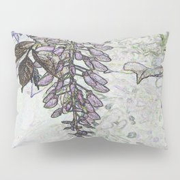 Wisteria Abstract Pillow Sham