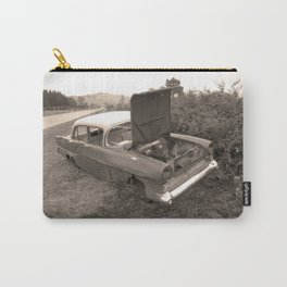 1957 Vauxhall Victor - dead cars series 102 Carry-All Pouch