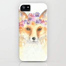 Miss Foxie iPhone Case