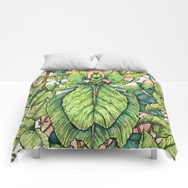 Leaf Mimic Comforters
