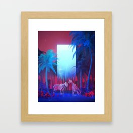 OLD GUARD (everyday 03.05.18) Framed Art Print