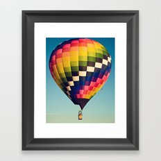 checkered Framed Art Print