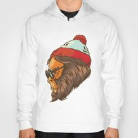 waldo Hoodies featuring Waldo Sasquatch  by Thomcat23