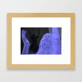 Father Forgive them Framed Art Print