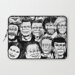 Dead Celebrities Laptop Sleeve