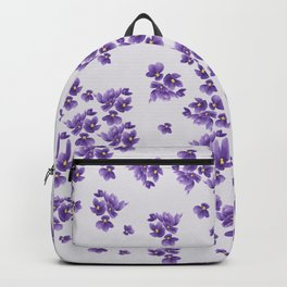 African Violets Backpack