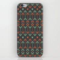 arrow iPhone & iPod Skins featuring Arrow by Priscila Peress