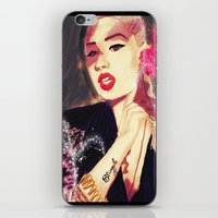 iggy azalea iPhone & iPod Skins featuring Iggy Azalea by The Expression Studio