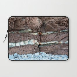 Colourful Rock Abstract Laptop Sleeve