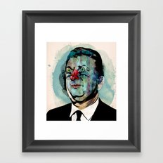 Businessman Framed Art Print