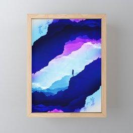 Violet dream of Isolation Framed Mini Art Print
