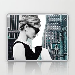 """Photo Montage """"Audrey in The City"""" Laptop & iPad Skin"""