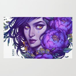 Purple Witch Rug