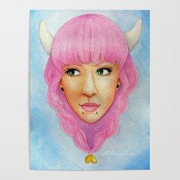 Bubblegum Queen Poster