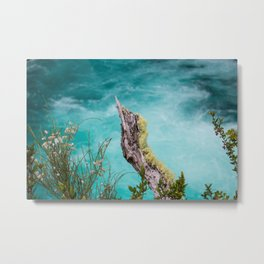 Spectacular view of a stormy ocean Metal Print