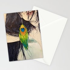 Feather Girl Stationery Cards
